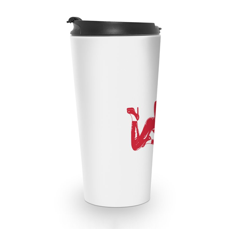 red latex babe Accessories Travel Mug by EarthtoMonica