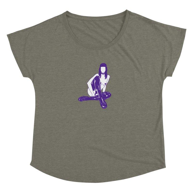 purple latex babe Women's Dolman by Earthtomonica's Artist Shop