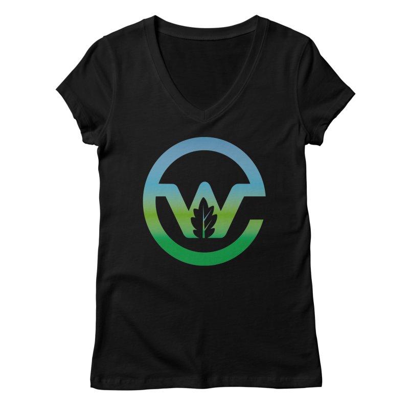 Earthwatch Brandmark Women's V-Neck by Earthwatch