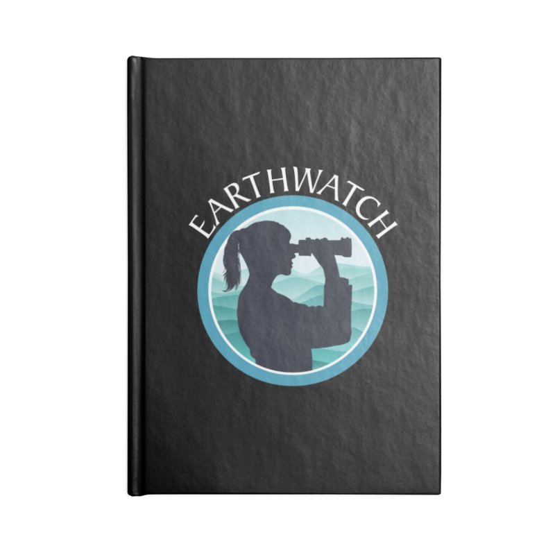 Girls in science | Earthwatch Accessories Notebook by Earthwatch