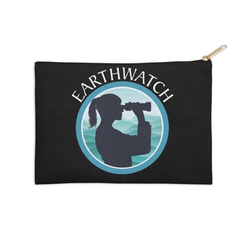 Girls in science | Earthwatch Accessories Zip Pouch by Earthwatch