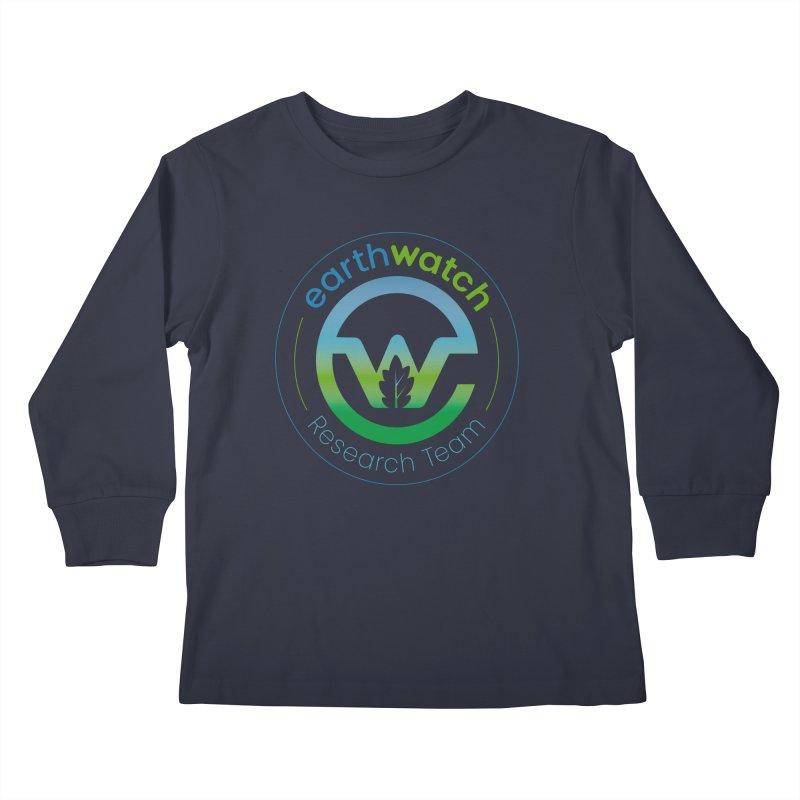 Earthwatch Research Team Kids Longsleeve T-Shirt by Earthwatch