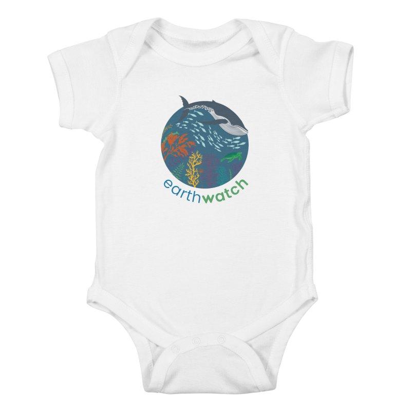 World Oceans Day   Earthwatch Kids Baby Bodysuit by Earthwatch