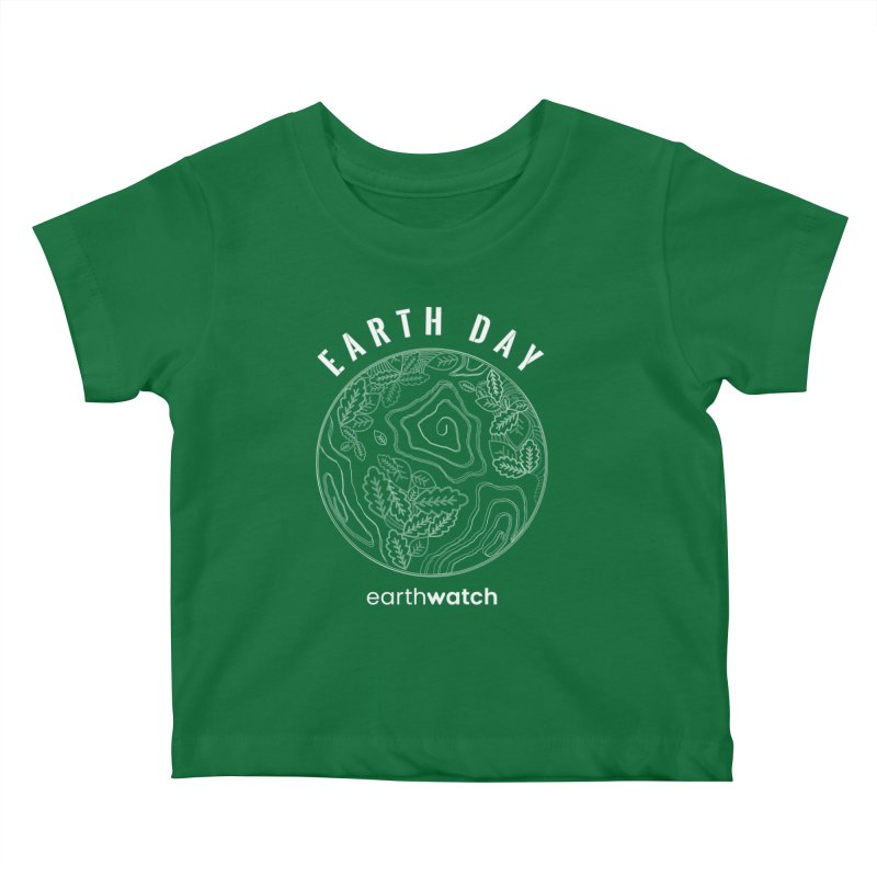 Earth Day 2020—White | Earthwatch Kids Baby T-Shirt by Earthwatch