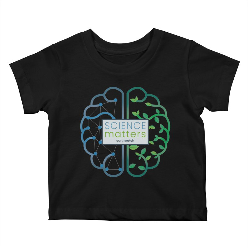Science Matters   Earthwatch Kids Baby T-Shirt by Earthwatch