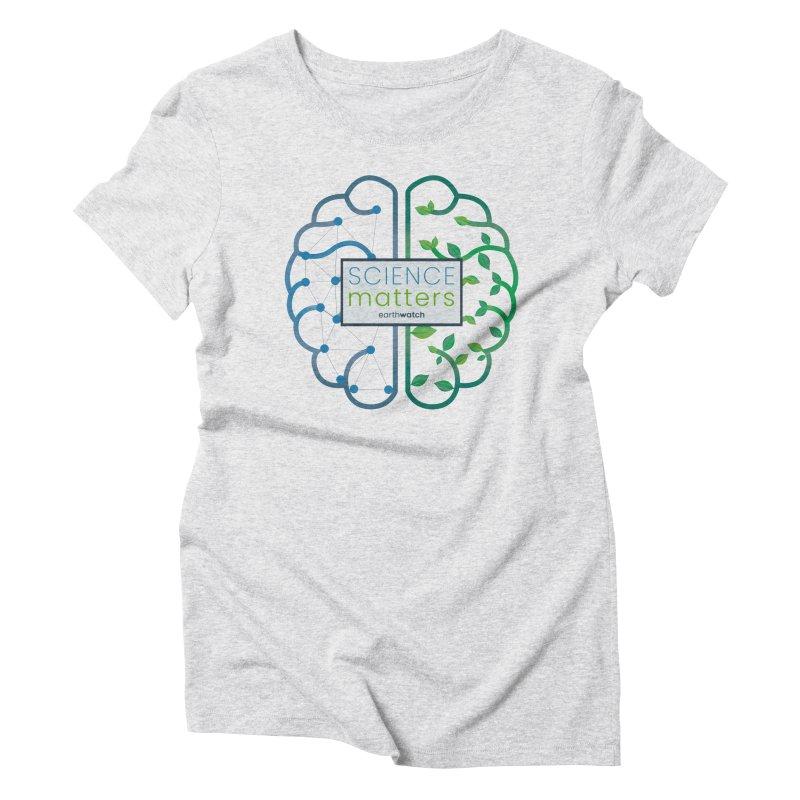 Science Matters | Earthwatch Women's T-Shirt by Earthwatch