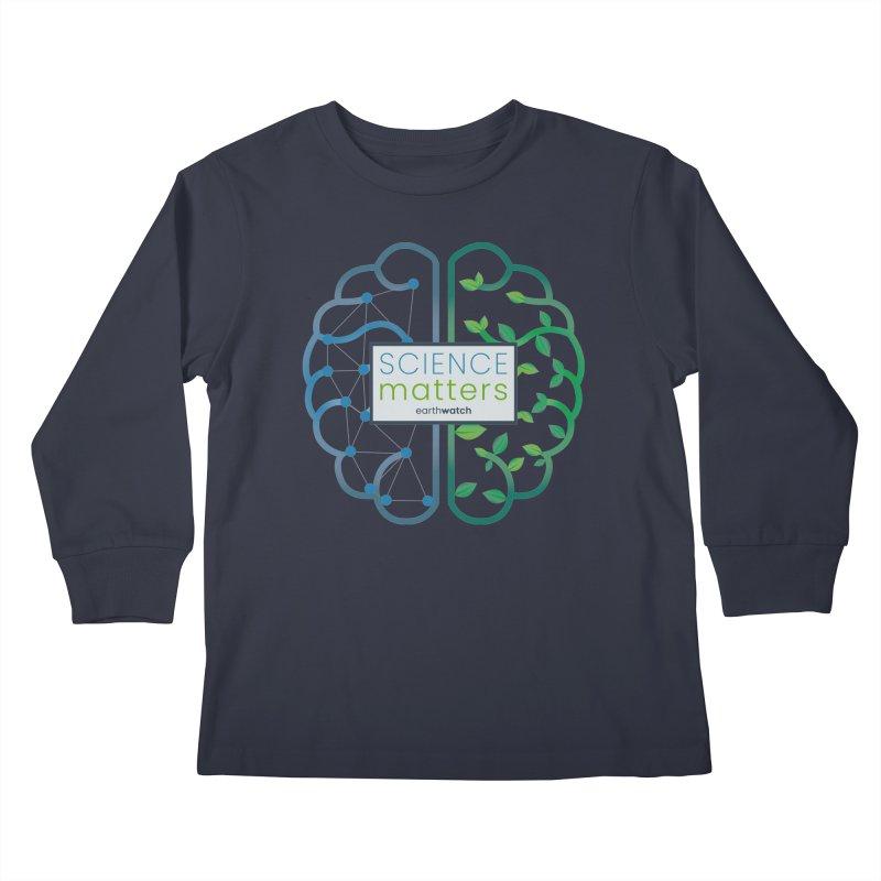 Science Matters   Earthwatch Kids Longsleeve T-Shirt by Earthwatch
