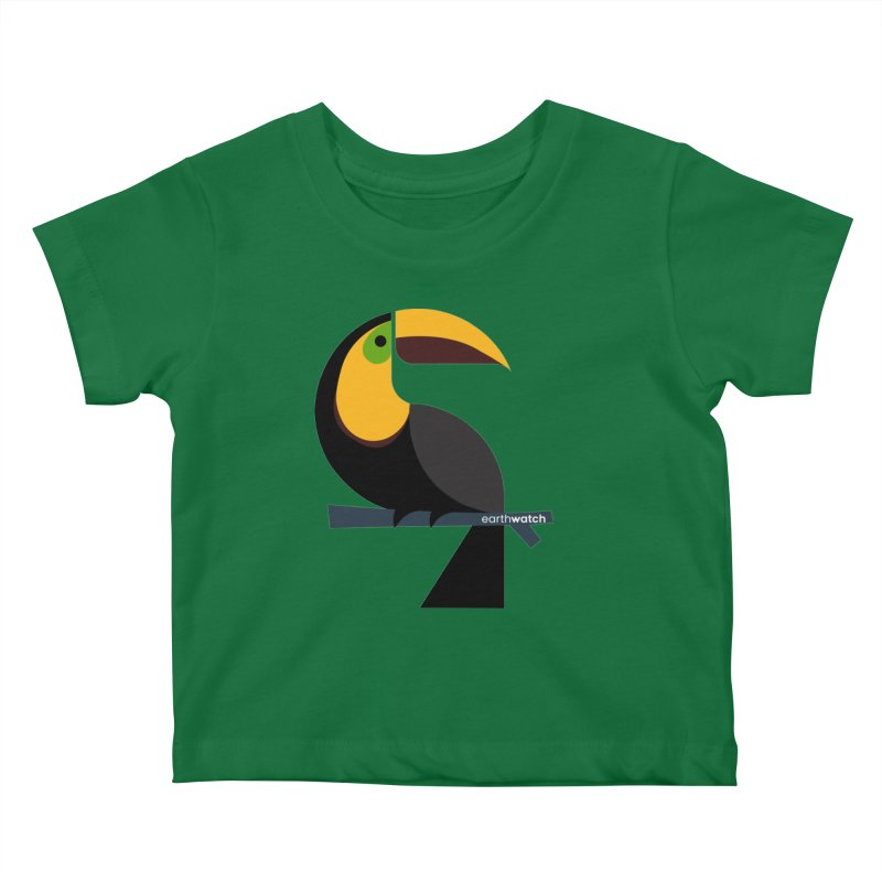 Toucan | Earthwatch Kids Baby T-Shirt by Earthwatch