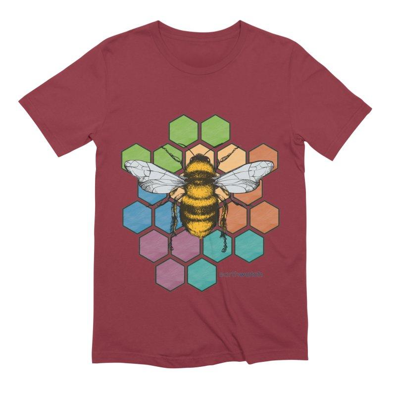 Pollinator | Earthwatch Men's T-Shirt by Earthwatch