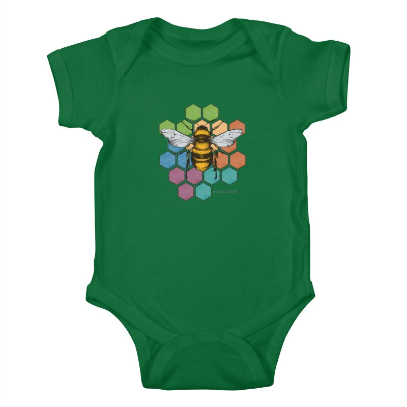 Pollinator | Earthwatch Kids Baby Bodysuit by Earthwatch