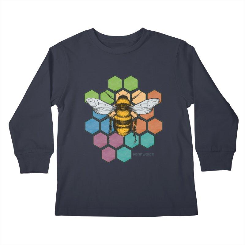 Pollinator | Earthwatch Kids Longsleeve T-Shirt by Earthwatch