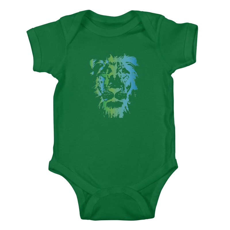 World Lion Day 2020 Kids Baby Bodysuit by Earthwatch