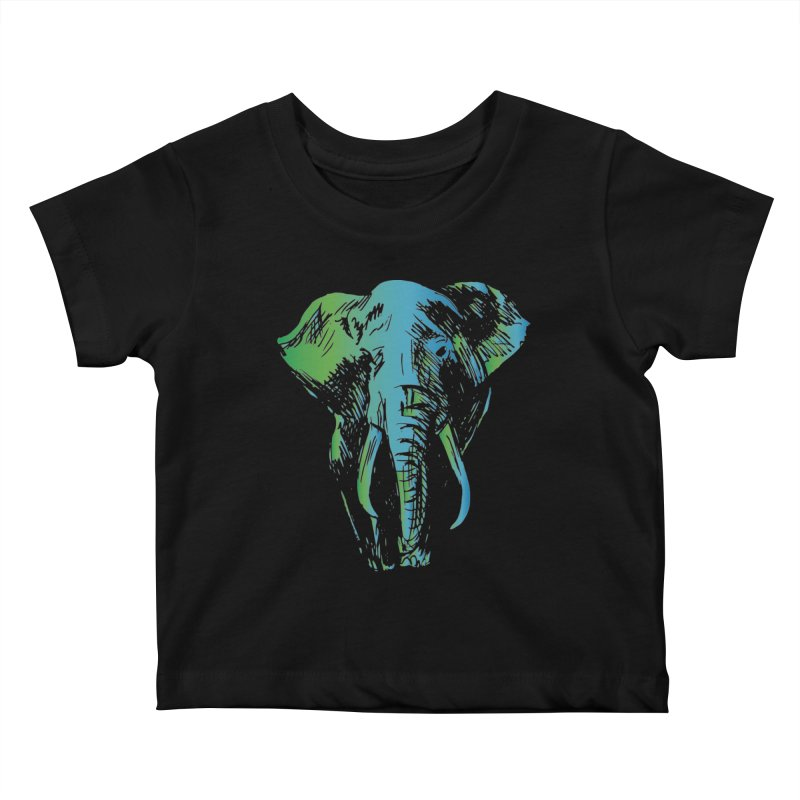 World Elephant Day 2020 Kids Baby T-Shirt by Earthwatch