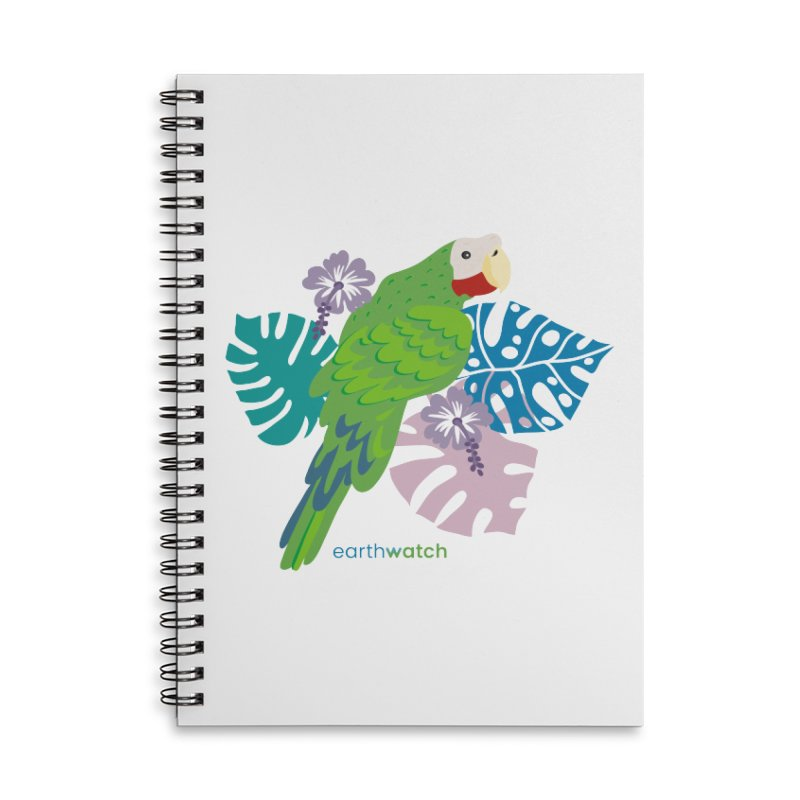 Cuban Amazon Parrot Accessories Notebook by Earthwatch