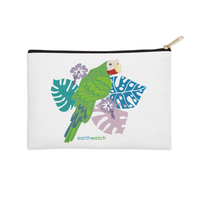 Cuban Amazon Parrot Accessories Zip Pouch by Earthwatch