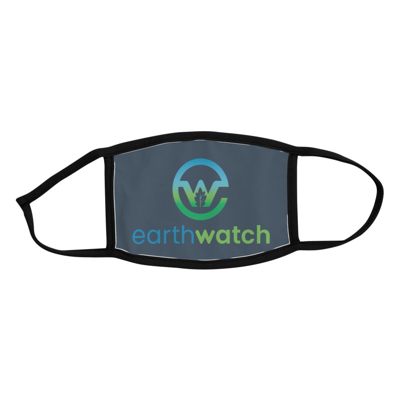 Earthwatch Logo Facemask Accessories Face Mask by Earthwatch