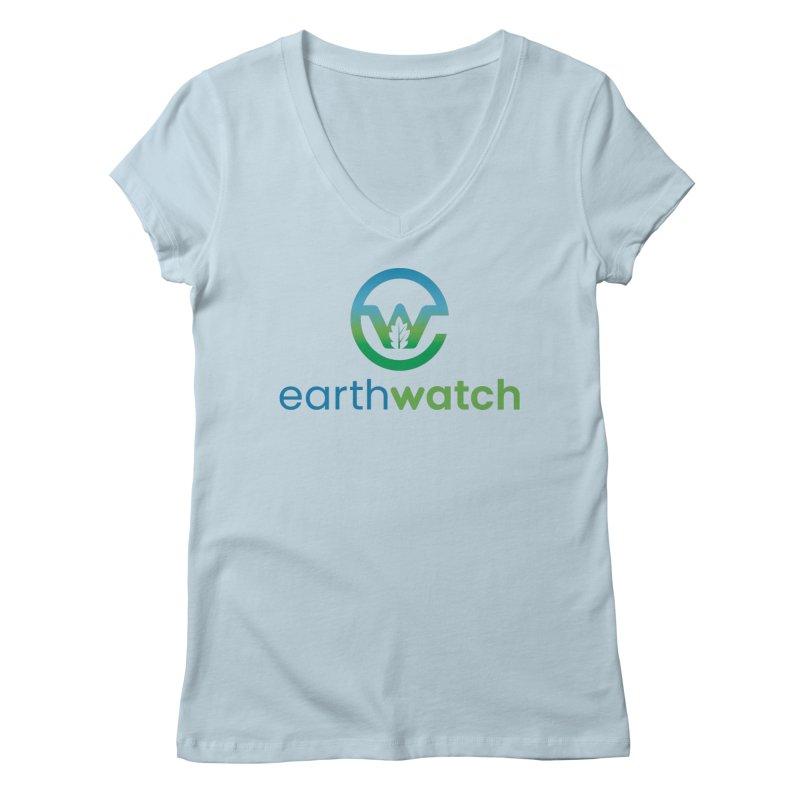 Earthwatch Tshirt Women's V-Neck by Earthwatch