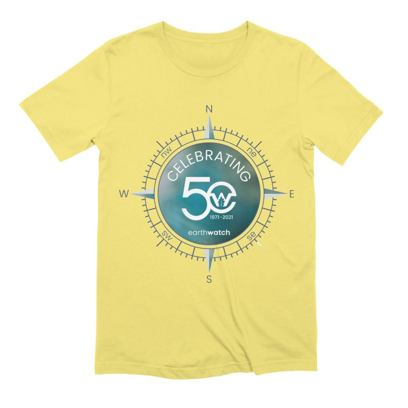 Earthwatch 50th Anniversary Men's T-Shirt by Earthwatch
