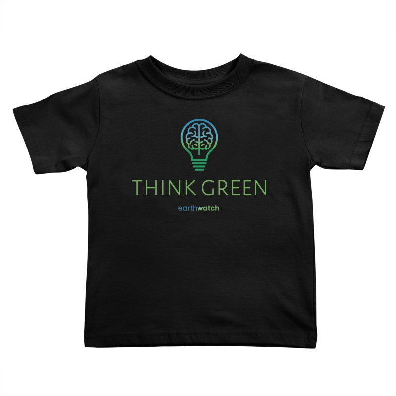 Earth Day 2021—Think Green Kids Toddler T-Shirt by Earthwatch