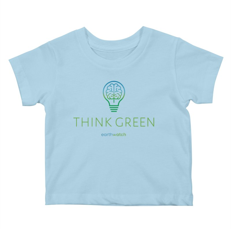 Earth Day 2021—Think Green Kids Baby T-Shirt by Earthwatch