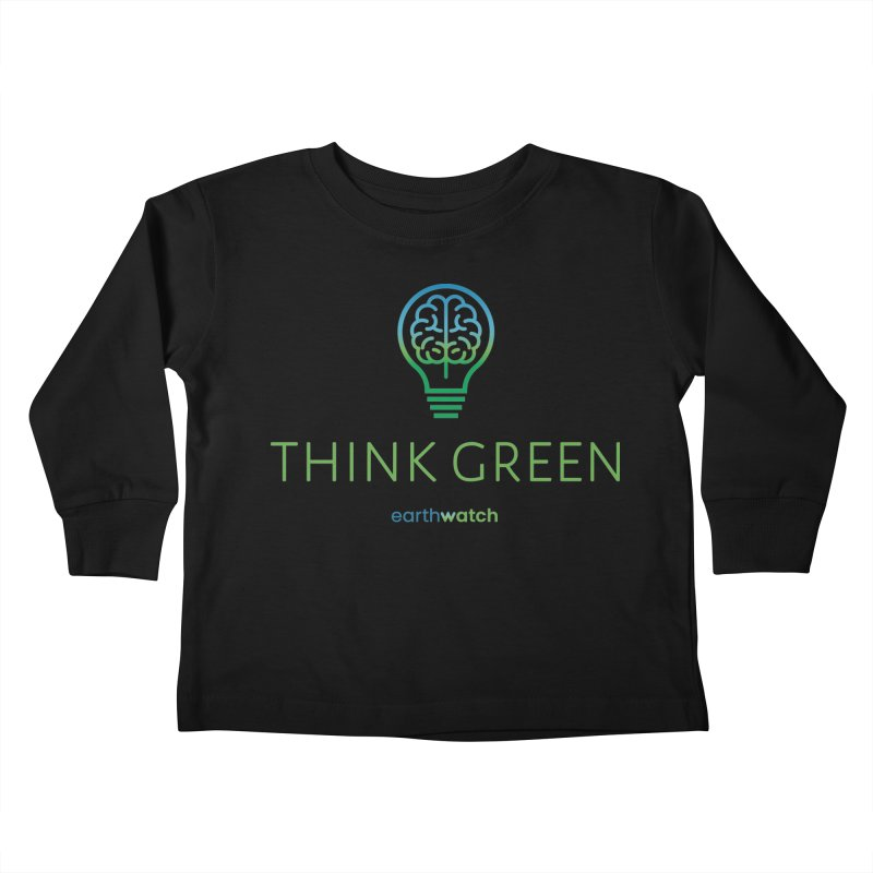 Earth Day 2021—Think Green Kids Toddler Longsleeve T-Shirt by Earthwatch