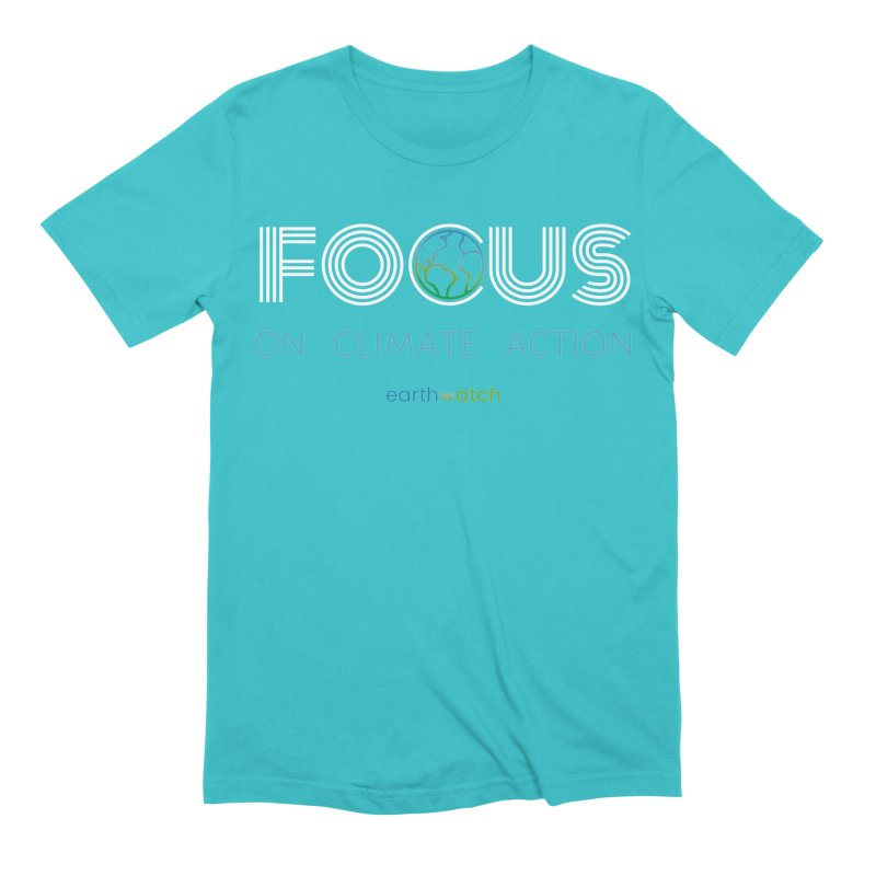 Earth Day 2021—Focus Men's T-Shirt by Earthwatch
