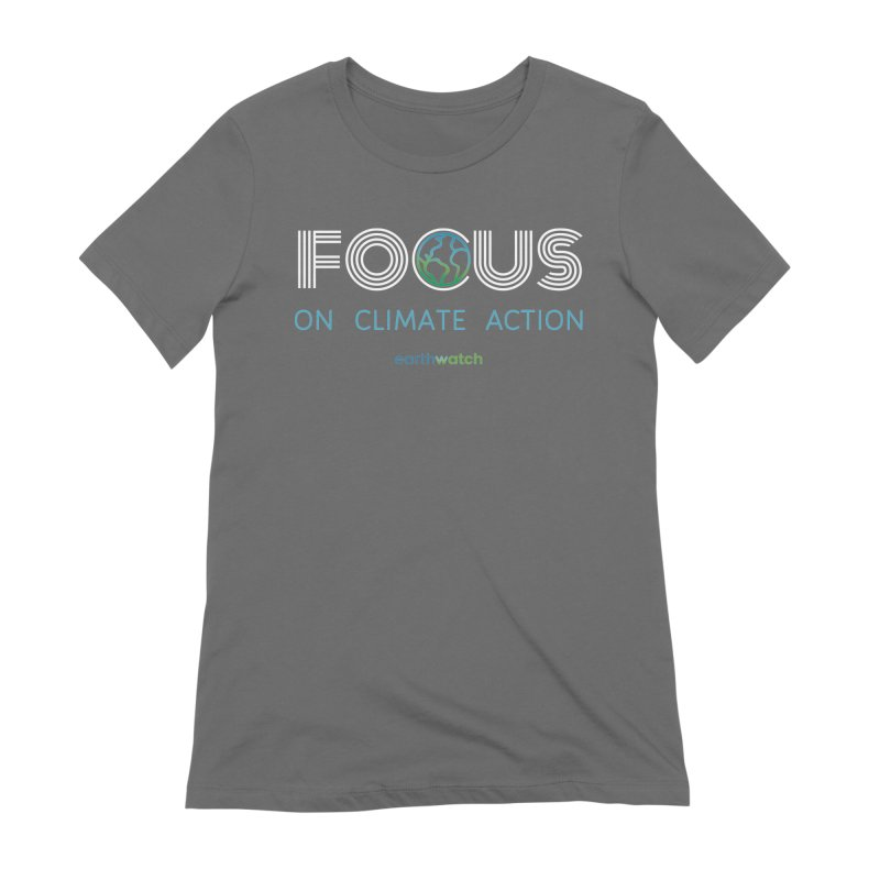 Earth Day 2021—Focus Women's T-Shirt by Earthwatch