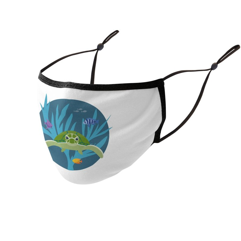 Sea Turtle | Earthwatch Accessories Face Mask by Earthwatch