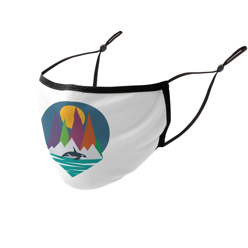 Orca   Earthwatch Accessories Face Mask by Earthwatch