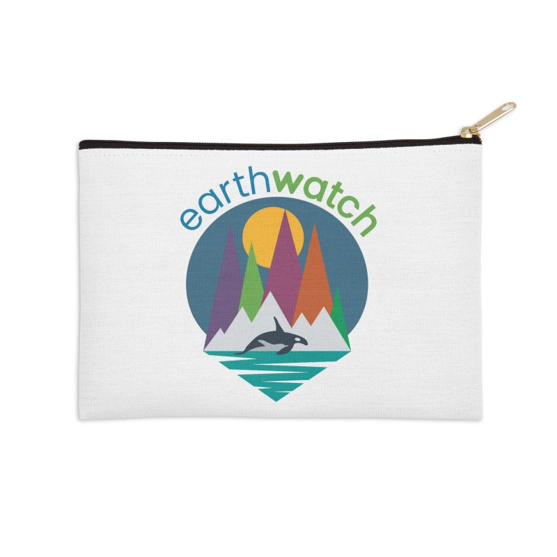 Orca   Earthwatch Accessories Zip Pouch by Earthwatch