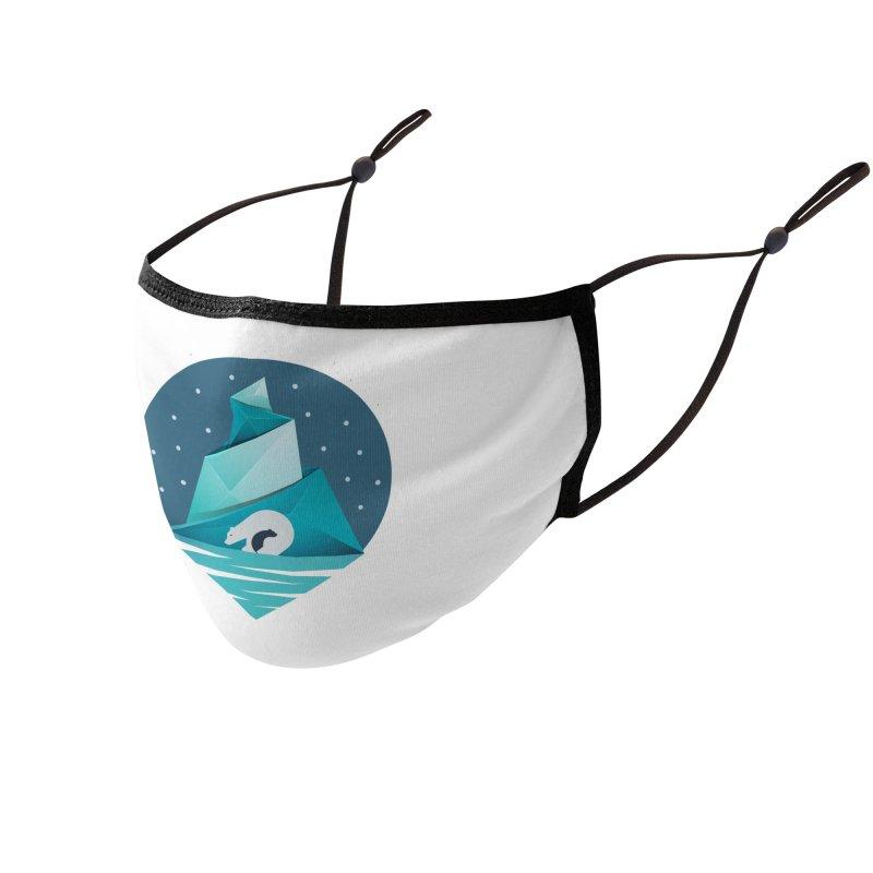 Polar Bear   Earthwatch Accessories Face Mask by Earthwatch