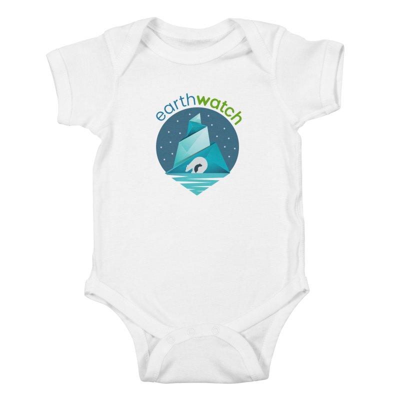 Polar Bear   Earthwatch Kids Baby Bodysuit by Earthwatch