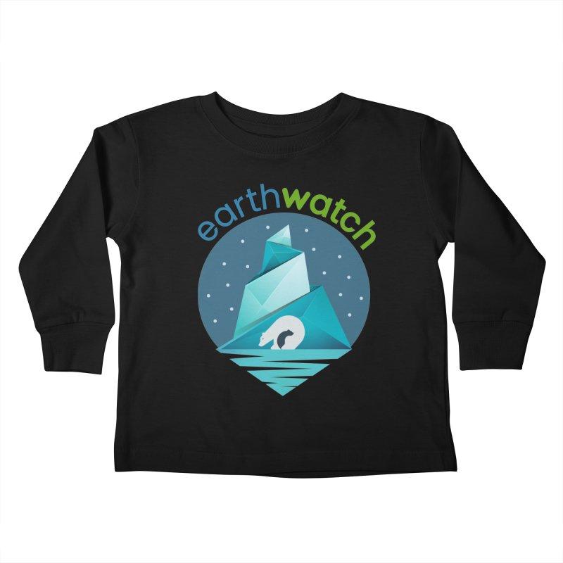 Polar Bear   Earthwatch Kids Toddler Longsleeve T-Shirt by Earthwatch