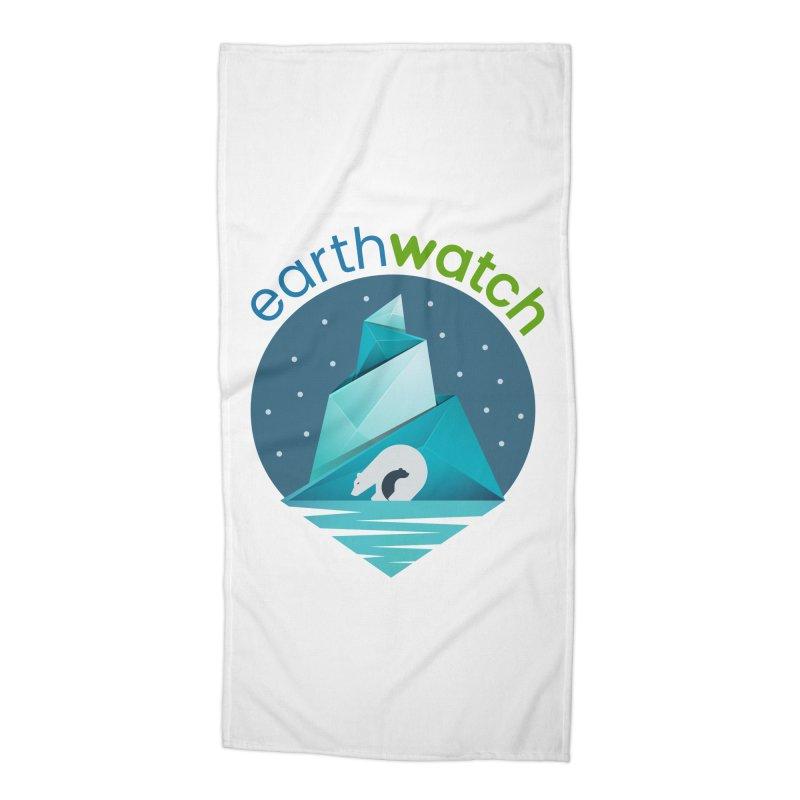 Polar Bear   Earthwatch Accessories Beach Towel by Earthwatch