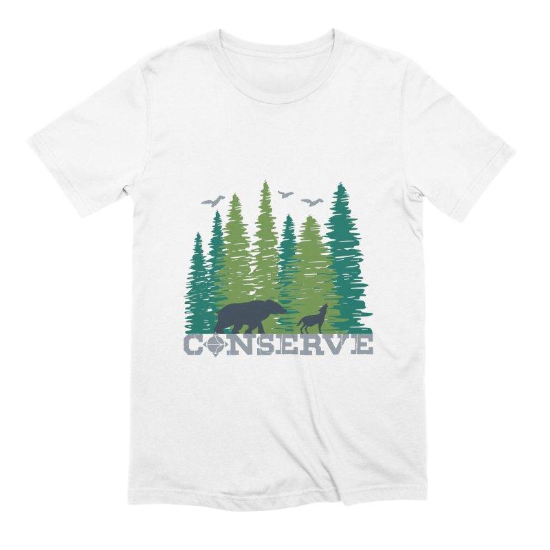 Conserve | Earthwatch Men's T-Shirt by Earthwatch