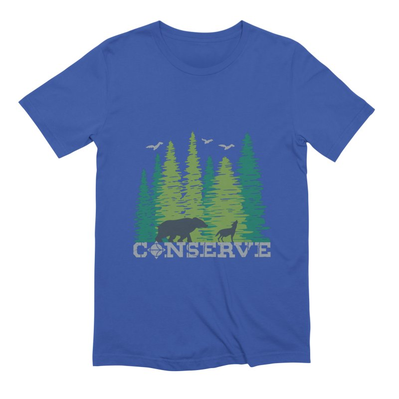 Conserve   Earthwatch Men's T-Shirt by Earthwatch