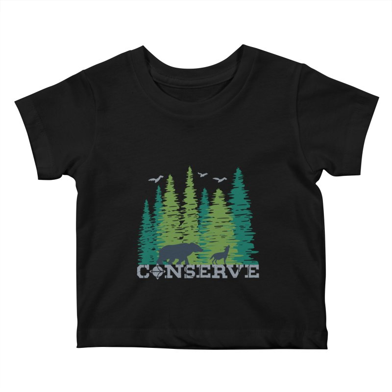 Conserve | Earthwatch Kids Baby T-Shirt by Earthwatch