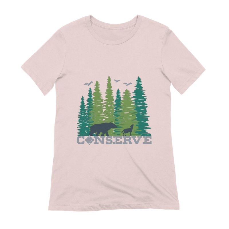 Conserve   Earthwatch Women's T-Shirt by Earthwatch