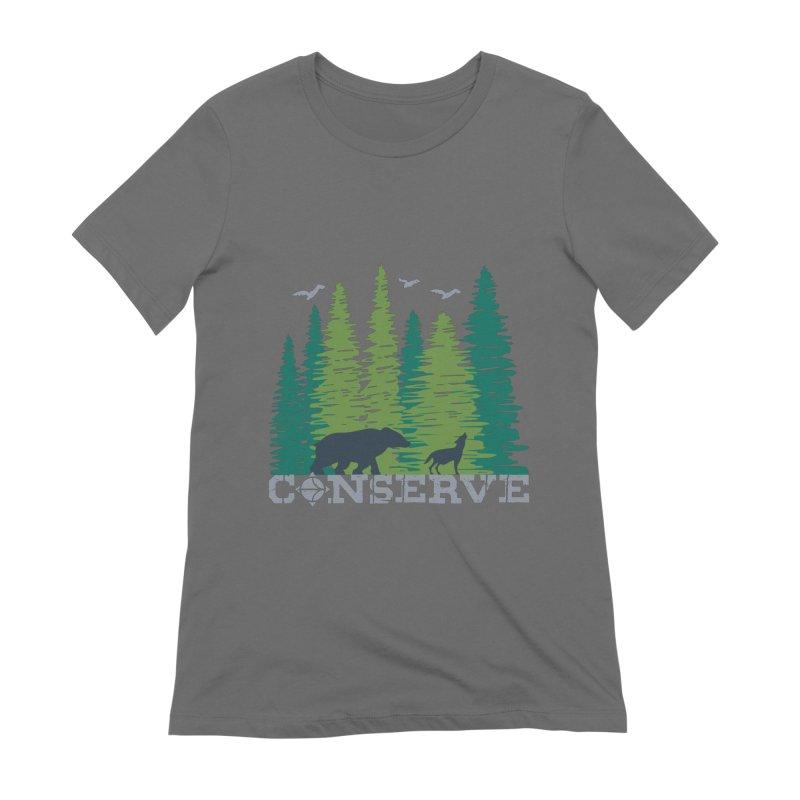 Conserve | Earthwatch Women's T-Shirt by Earthwatch