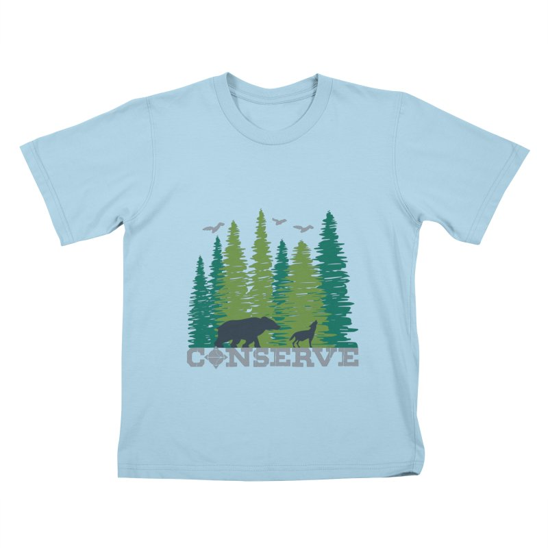 Conserve | Earthwatch Kids T-Shirt by Earthwatch