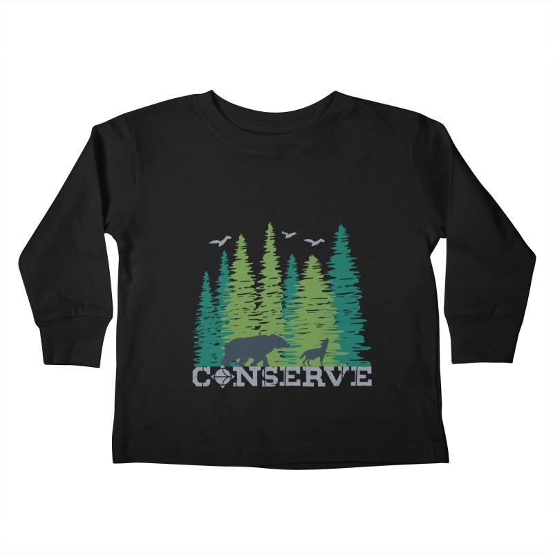 Conserve | Earthwatch Kids Toddler Longsleeve T-Shirt by Earthwatch