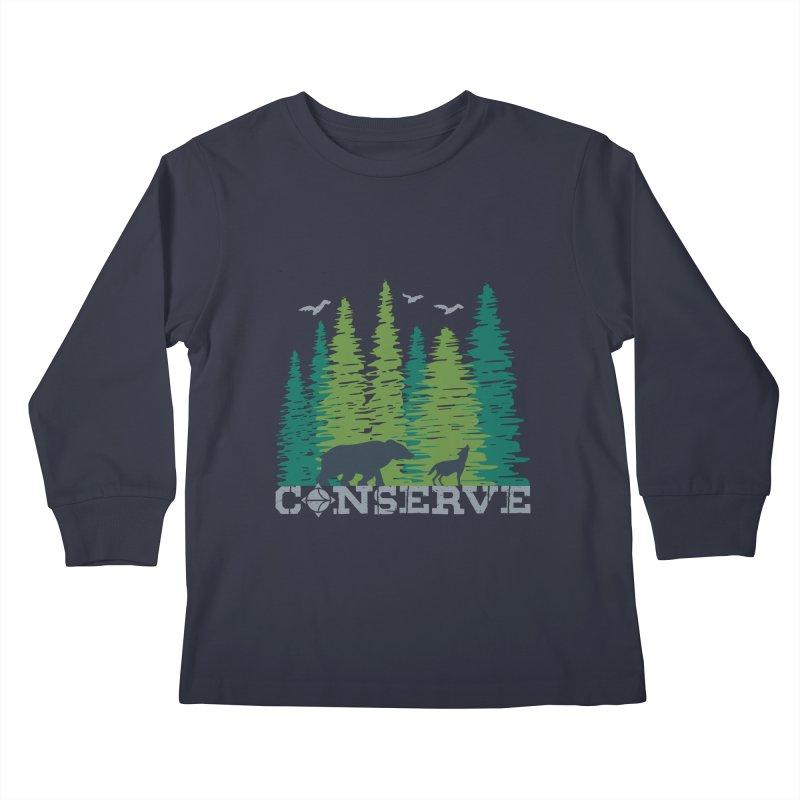 Conserve | Earthwatch Kids Longsleeve T-Shirt by Earthwatch