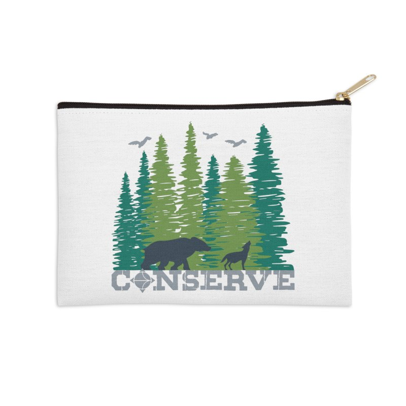 Conserve | Earthwatch Accessories Zip Pouch by Earthwatch