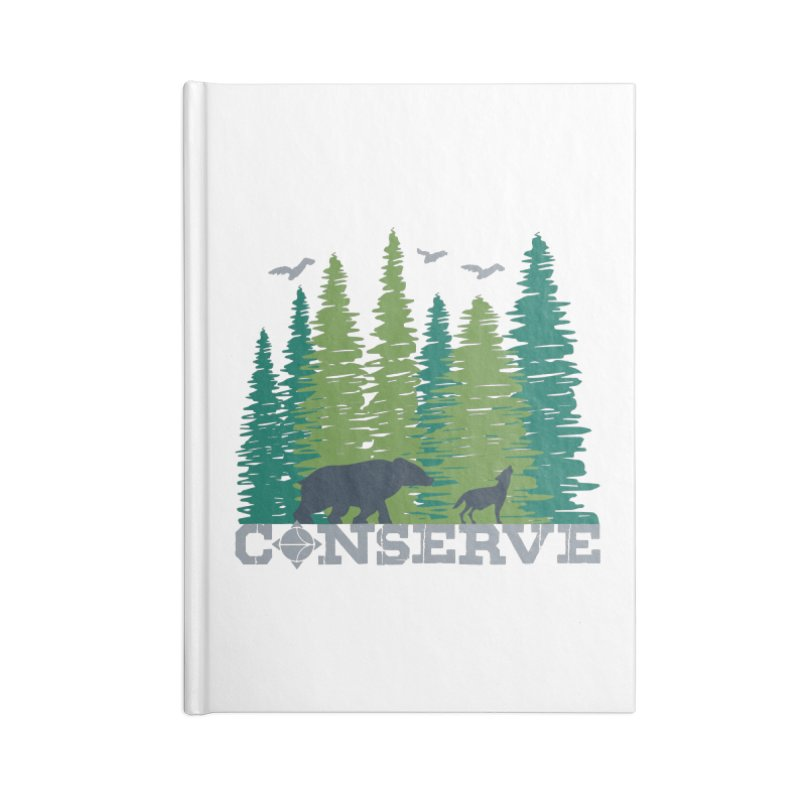 Conserve | Earthwatch Accessories Notebook by Earthwatch