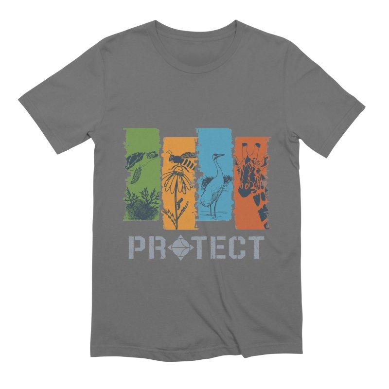 Earth Day | Earthwatch Men's T-Shirt by Earthwatch