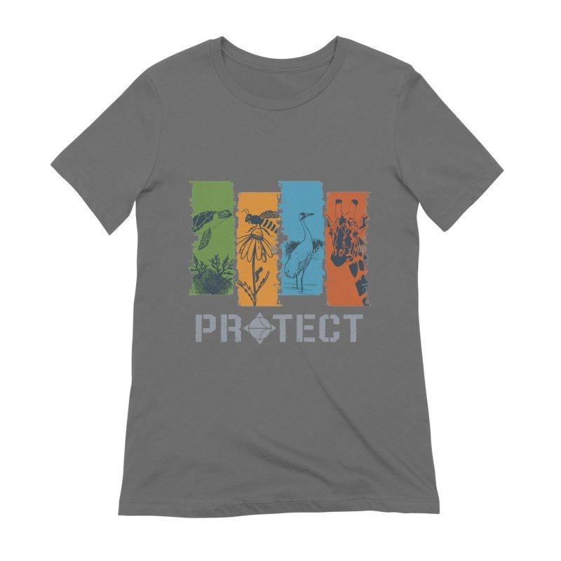 Earth Day | Earthwatch Women's T-Shirt by Earthwatch