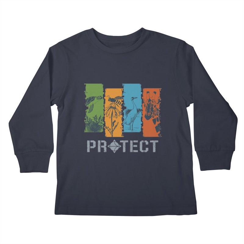Earth Day | Earthwatch Kids Longsleeve T-Shirt by Earthwatch