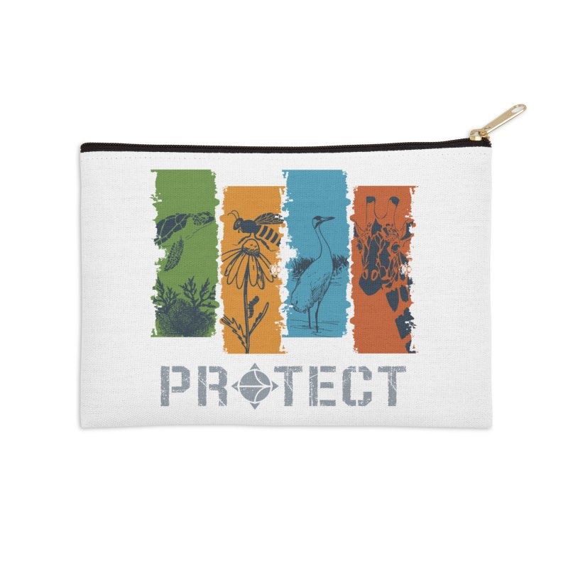 Earth Day | Earthwatch Accessories Zip Pouch by Earthwatch