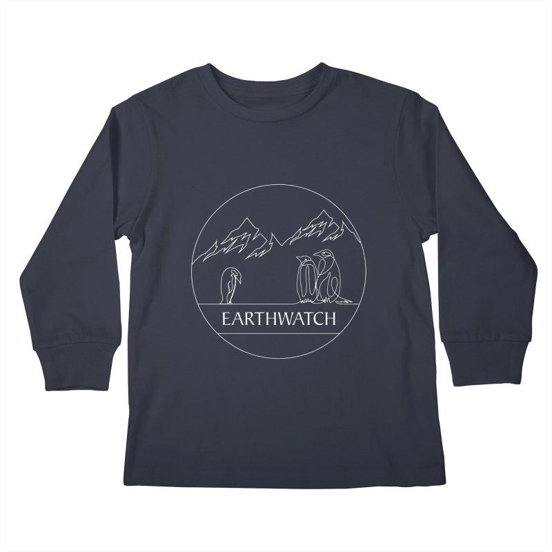Penguin   Earthwatch Kids Longsleeve T-Shirt by Earthwatch