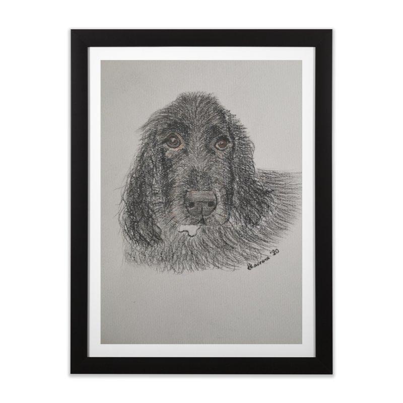 Bertie Home Framed Fine Art Print by EcoArtsWild's Artist Shop